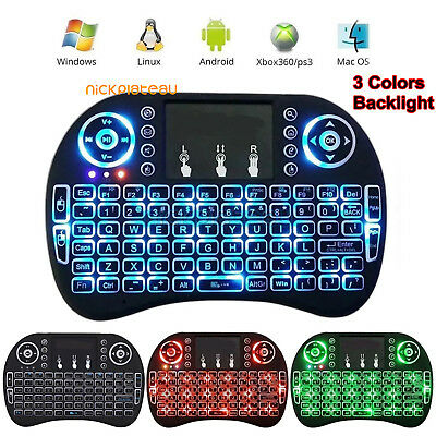 2.4G i8 Mini Wireless Air Keyboard Mouse Remote Touchpad For Android TV BOX/ PC
