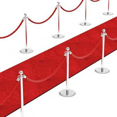 45FT RED CARPET Floor Runner Wedding Hollywood Prom Birthday Party Decoration