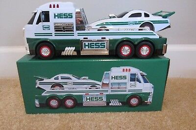 New, Sold Out, 2016 Hess Toy Truck And Dragster , Ready To Ship In Original Box