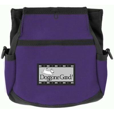 Doggone Good Rapid Reward Treat Bag - Purple WITH BELT.  Shipped from the UK.