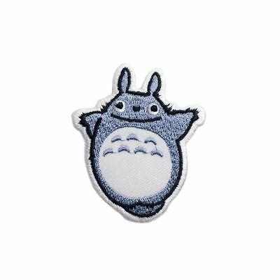 Toon Cat (Iron on) Embroidery Applique Patch Sew Iron Badge