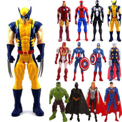 The Avengers Superheld Hulk Spiderman Captain Action Figur Figuren Spielzeug