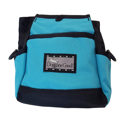 Doggone Good Rapid Reward Treat Bag - Turquoise WITH BELT.  Shipped from the UK.