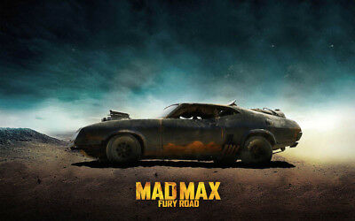 Mad Max Ford Falcon XB V8 Fury Road Interceptor POSTER B