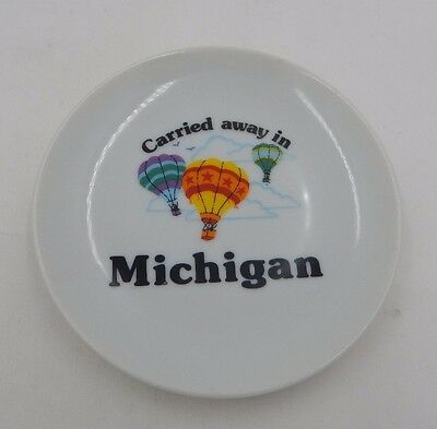 Carried Away in Michigan Hot Air Balloon Saucer