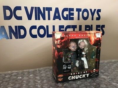 """McFarlane Toys - Movie Maniacs 2 """"Bride of Chucky"""" Deluxe Boxed Set (1999)"""