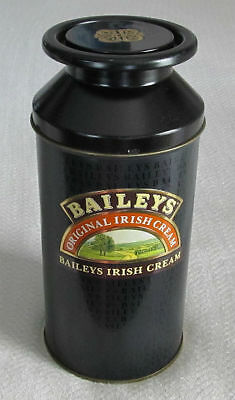 """BAILEY'S Irish Cream 10"""" Decorative TIN Milk Can CANISTER with LID"""
