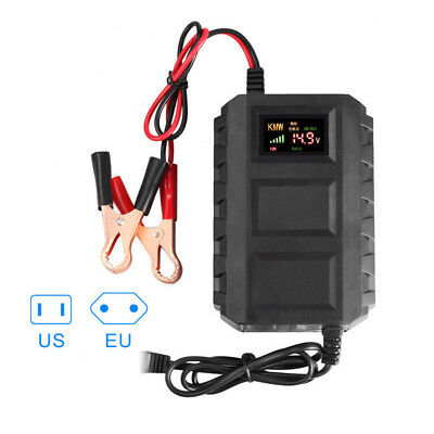 Intelligent 12V 20A Automobile Lead Acid Smart Battery Charger Car Motorcycle