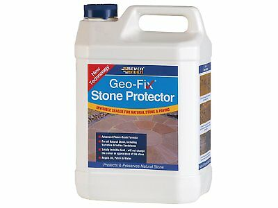 Everbuild Geofix Natural Stone Protector Paving Path Patio Sealer 5L | Sandstone