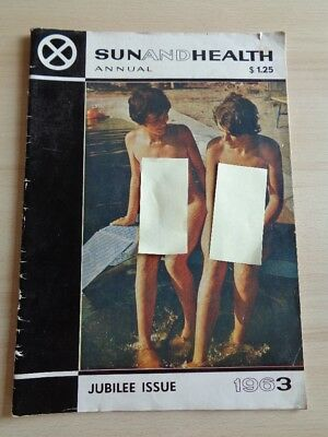 Sun and Health Jubilee Issue 1963 - FKK Sonderausgabe