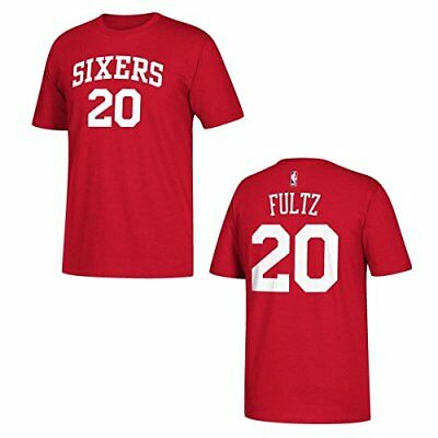 ADIDAS PHILADELPHIA 76ERS Markelle Fultz Player T-Shirt Red -  13.99 ... b2e16eab6