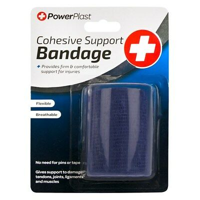 3 x Cohesive Support Bandage First Aid Support Injuries Medical Wraps Flexible