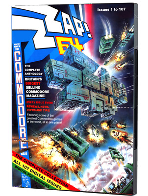 ZZAP 64 ANTHOLOGY Boxset - Complete Collection of Commodore Magazines on DVD