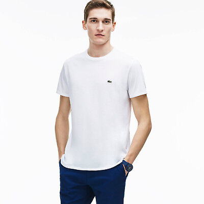 T shirt lacoste homme col rond Outlet