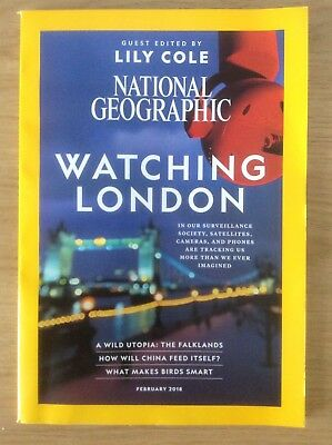 NATIONAL GEOGRAPHIC MAGAZINE - FEBRUARY 2018 - World Culture Travel - VVGC