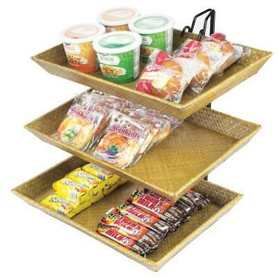 Cal-Mil - 1290-3 - 3-Tier Bamboo Tray Merchandiser