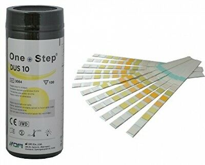 Health Mate 10 Parameter Professional/ GP Urinalysis Multisticks Urine Strip -