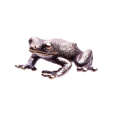 Grenouille miniature sculpture figurine  animal