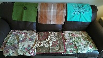 lot of 8 pottery barn pillow covers - Pottery Barn Pillow Covers