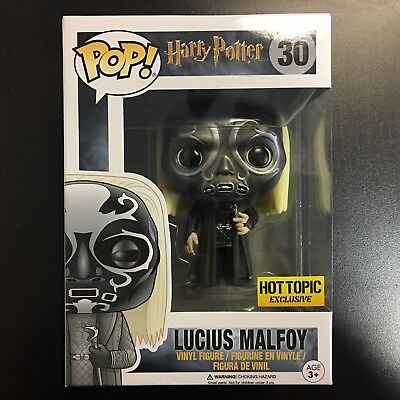 Funko POP Harry Potter Lucius Malfoy Hot Topic Exclusive MINT BOX