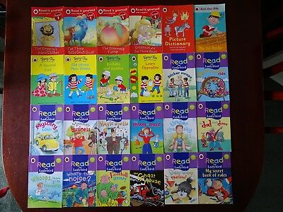 Bundle Of 24 Children's Ladybird Books incl. Read It Yourself And Topsy & Tim