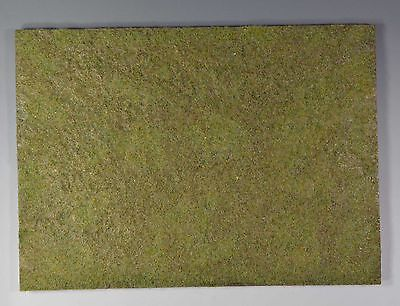 finished and painted Ground base with grass