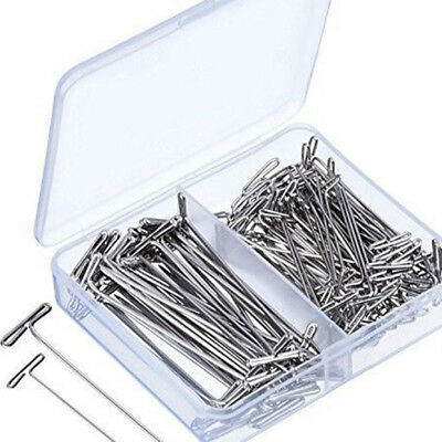 51mm &38mm Stainless Steel T Pin DIY Modelling Brooch Badge Sewing Craft Set Hot