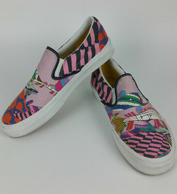 0eaa9a2c29 The Beatles VANS Slip On Mens 9.5 Shoes SEA OF MONSTERS YELLOW SUBMARINE
