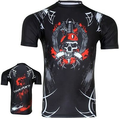 American Top Team Rash Guard Base Layer BJJ MMA Jiu Jitsu Grappling UFC 2732