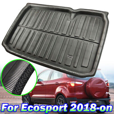 For Ford EcoSport 2018 19 Cargo Boot Liner Trunk Mat Floor Tray Carpet Tailored