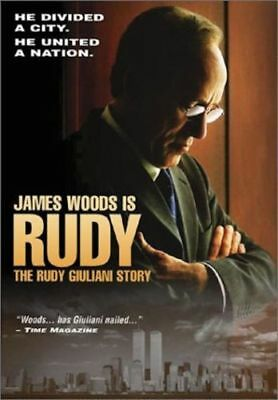 Rudy - The Rudy Giuliani Story (DVD, 2003) BRAND NEW! FACTORY SEALED! FAST SHIP!