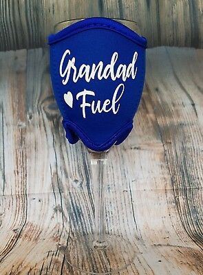 Grandad Fuel Wine Glass Cooler