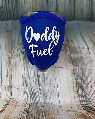 Daddy Fuel Wine Glass Cooler