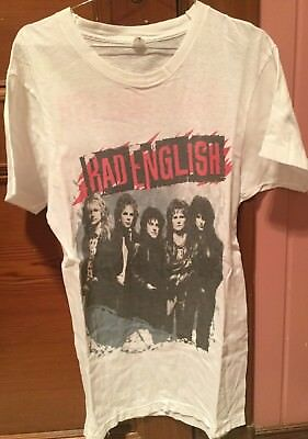 Bad English t-shirt vintage 1989-90 Journey The Babys Cacophony