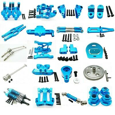 Alloy Aluminum Parts For 1/12 WLtoys 12428 12423 RC Car Upgrade Parts Blue NEW