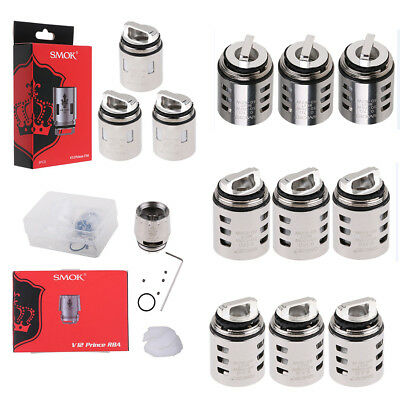 SMOK TFV12 PRINCE Remplacement Coil - Q4 | M4 | X6 | T10 | RBA