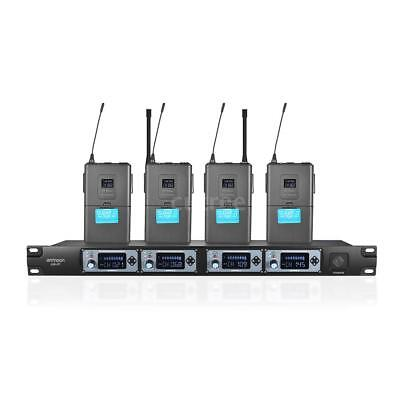 4T Professional Wireless Headset Microphone System with 4 Channel E9N7