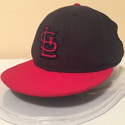 """MLB St.Louis Cardinals 7"""" 59FIFTY Diamond Era On Field Fitted Cap by New Era"""