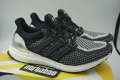 377d833591a ADIDAS ULTRA BOOST 2.0 Silver Medal LTD Olympic Pack BB4077 ...