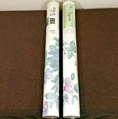 Village Wallpaper Double Rolls Floral Lot of 2 1985