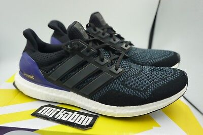 ef33975243e760 ADIDAS ULTRA BOOST 1.0 OG Core Black Purple B27171 size 11.5 ...