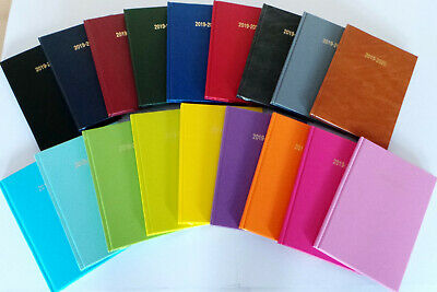 Academic Diary A4 & A5 Mid Year 2018 - 2019 Week To View & Page A Day 13 Colours