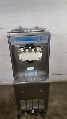 Taylor Soft Serve Ice Cream Machine 2 Flavors Twist Water Cooled 3 Phase Tested