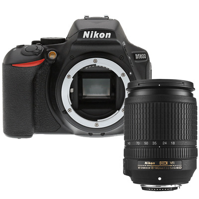 Nikon D5600 24.2MP DSLR Camera with AF-S DX 18-140mm f/3.5-5.6G ED VR Lens