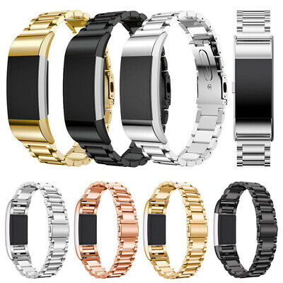 Replacement Bracelet Strap Watch Band Stainless Steel for Fitbit Charge 2