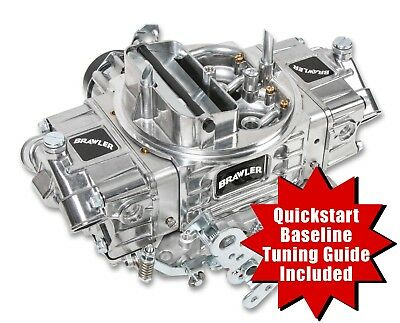 Holley QuickFuel 4 Barrel 650 CFM Brawler Carburetor E-Choke Double Pumper 67255