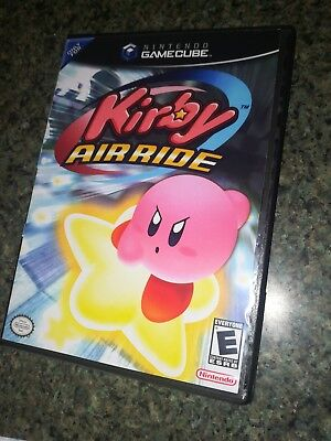 Kirby Air ride Replacement Case only!!! Nintendo Gamecube! Airride