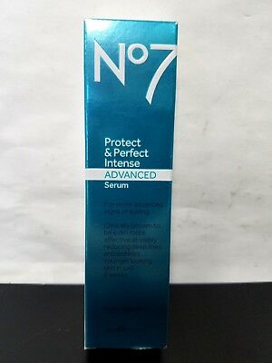 Boots No7 Protect and Perfect Intense Advanced Serum Tube 1 oz Anti Aging