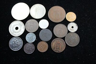 Norway 15  assorted coins   lot H 885