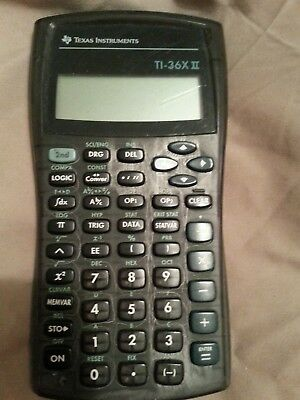 texas instruments ti 36x pro engineering scientific calculator rh picclick com TI- 36 Solar X TI- 36 Solar